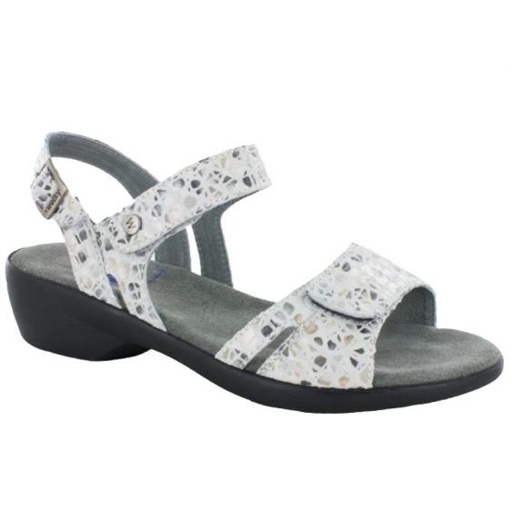Wolky Agua OffWhite-Gray Marble Print 777-93-120 (Women's)