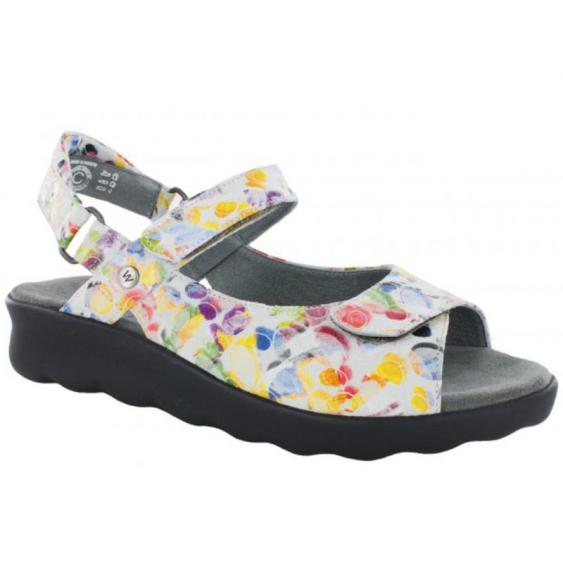 Wolky Pichu Multi-White Circles 1890-12-980 (Women's)