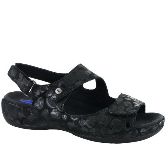 Wolky Liana Black Circles 315-12-100 (Women's)