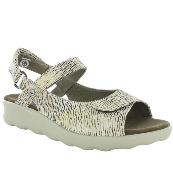 Wolky Pichu Beige Canals 1890-739 (Women's)