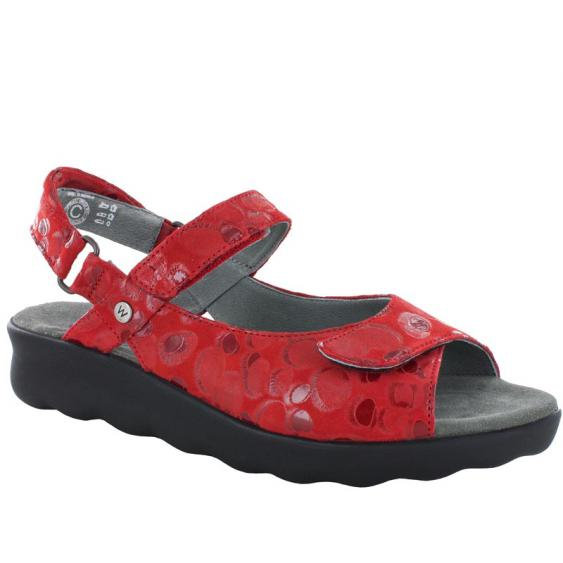 Wolky Pichu Red Circles 1890-12-500 (Women's)