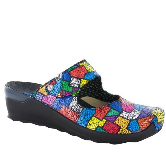 Wolky Up Multi Color Picasso Crash 2576-94-992 (Women's)