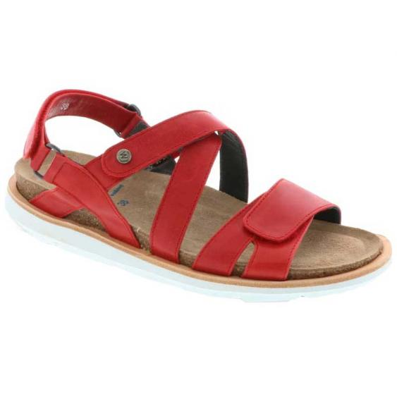Wolky Sunstone Red Summer Maverick Lux 8480-30-570 (Women's)