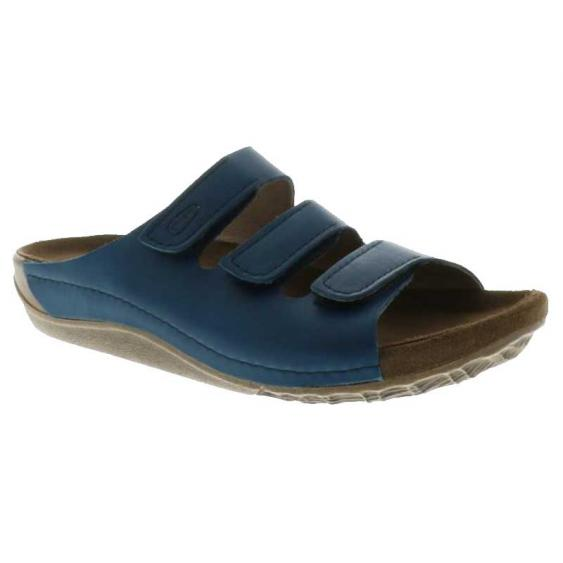 Wolky Nomad Blue Vegi Leather 532-50-800 (Women's)