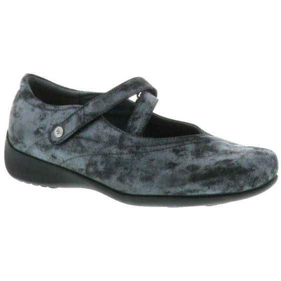 Wolky Passion Black Amalia Nubuck 350-10-003 (Women's)