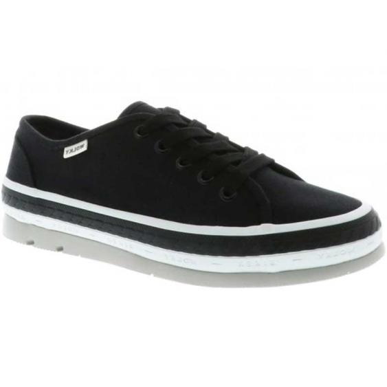Wolky Linda Black Canvas 1230-96-000 (Women's)