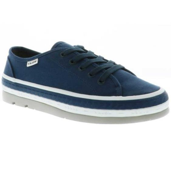 Wolky Linda Navy Canvas 1230-96-830 (Women's)
