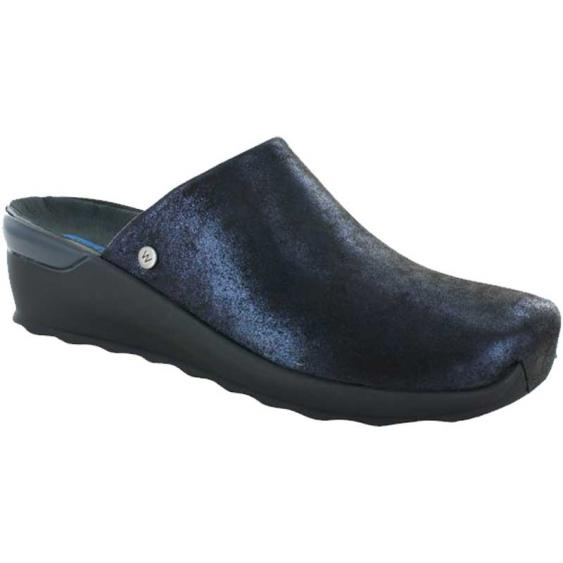 Wolky Go Blue Marley Leather 2575-680 (Women's)