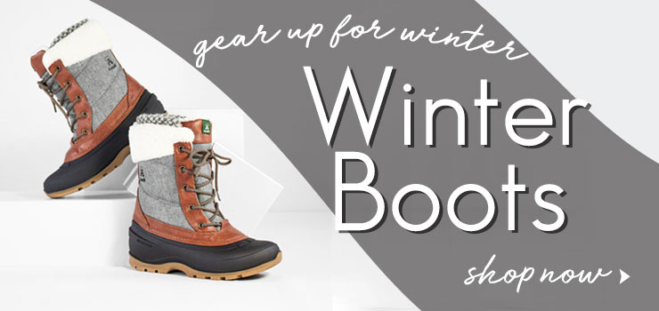 GEAR UP FOR WINTER - Shop Winter Boots